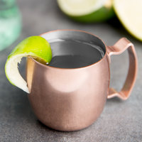 World Tableware CMM-101 2 oz. Copper Mini Moscow Mule Mug - 12/Case