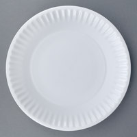 World Tableware CO-12 Cookout 9 1/4 inch Bright White Round Porcelain Plate - 24/Case