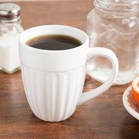 World Tableware CO-18 Cookout 12 oz. Bright White Porcelain Mug - 36/Case