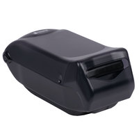 San Jamar H5005TBK Fullfold Venue Countertop Napkin Dispenser with Control Face - Black Pearl