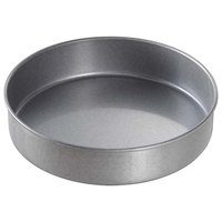 "Chicago Metallic 49025 9"" x 2"" Glazed Aluminized Steel Round Customizable Cake Pan"
