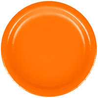 Creative Converting 79191B 7 inch Sunkissed Orange Paper Plate - 24/Pack