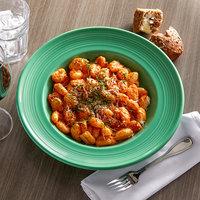 Tuxton CTD-120 Concentrix 24.5 oz. Cilantro China Soup / Pasta Bowl - 6/Case