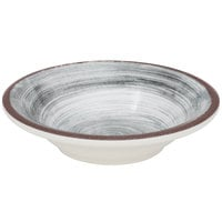 Carlisle 5401818 Mingle 4.5 oz. Smoke Melamine Fruit Bowl - 48/Case
