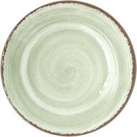 Carlisle 5400146 Mingle 11 inch Jade Round Melamine Plate - 12/Case
