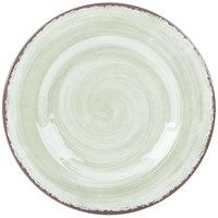 Carlisle 5400246 Mingle 9 inch Jade Round Melamine Salad Plate - 12 / Case