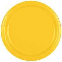 Creative Converting 471021B 9 inch School Bus Yellow Paper Plate - 24/Pack
