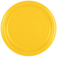Creative Converting 471021B 9 inch School Bus Yellow Paper Plate - 24 / Pack