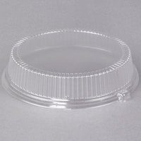 Dart CL10P 10 inch Clear Dome Lid for Foam Plates - 500/Case