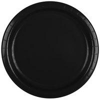 Creative Converting 47134B 9 inch Black Velvet Paper Plate - 24/Pack
