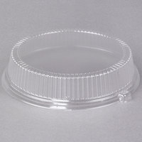 Dart CL10P 10 inch Clear Dome Lid for Foam Plates - 125/Pack