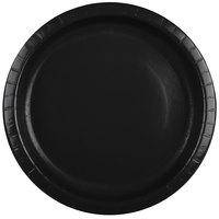 Creative Converting 50134B 10 inch Black Velvet Paper Plate - 24/Pack