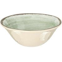 Carlisle 5400446 Mingle 27 oz. Jade Melamine Ice Cream Bowl - 12 / Case