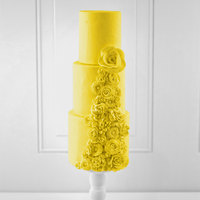 Satin Ice 5 lb. Yellow Vanilla Rolled Fondant Icing