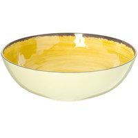 Carlisle 5401313 Mingle 4.8 Qt. Amber Melamine Large Serving Bowl - 6/Case