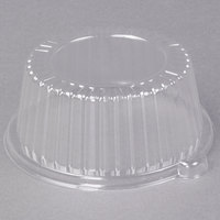 Dart CL6P 6 inch Clear Dome Lid for Foam Dinnerware - 125/Pack