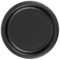 Creative Converting 79134B 7 inch Black Velvet Paper Plate - 24/Pack