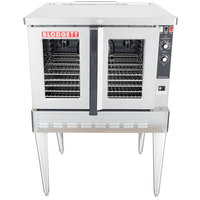 blodgett single deck natural gas full size standard depth convection oven - Convection Ovens
