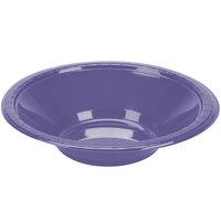 Creative Converting 28115051 12 oz. Purple Plastic Bowl - 20/Pack
