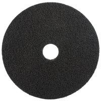 3M 7200 21 inch Black Stripping Pad - 5/Case