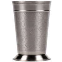 World Tableware JC-26 15 oz. Mint Julep Cup with Etched Detailing - 12/Case