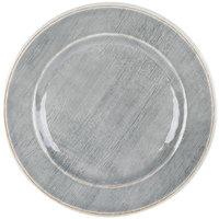 Carlisle 6400218 Grove 9 inch Smoke Round Melamine Salad Plate - 12/Case