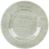 Carlisle 6400246 Grove 9 inch Jade Round Melamine Salad Plate - 12 / Case