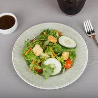 Carlisle 6400246 Grove 9 inch Jade Round Melamine Salad Plate - 12/Case