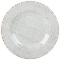 Carlisle 6400106 Grove 11 inch Buff Round Melamine Plate - 12/Case