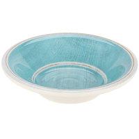Carlisle 6401815 Grove 4.25 oz. Aqua Melamine Fruit Bowl - 48/Case