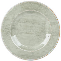 Carlisle 6400446 Grove 12 1/2 inch Jade Round Melamine Charger Plate - 12/Case