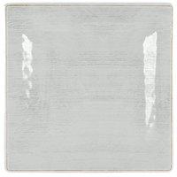 Carlisle 6402206 Grove 10 1/2 inch Buff Square Melamine Plate - 12/Case