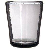 Carlisle MIN544018 Mingle 14 oz. Smoke Tritan Plastic Double Old Fashioned Glass - 12/Case