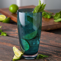 Carlisle EP4015 Epicure Cased 22 oz. Aqua Tritan Plastic Highball Glass - 12/Case