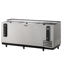 Turbo Air TBC-80SD 80 inch Super Deluxe Stainless Steel Bottle Cooler