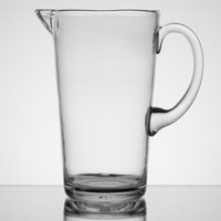 Carlisle MIN544307 Mingle 74 oz. Clear Tritan Plastic Pitcher - 4/Case