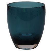 Carlisle EP5015 Epicure Cased 14 oz. Aqua Tritan Plastic Double Old Fashioned Glass - 12/Case
