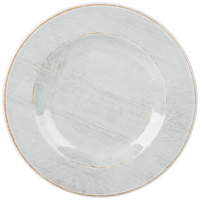 Carlisle 6400406 Grove 12 1/2 inch Buff Round Melamine Charger Plate - 12/Case