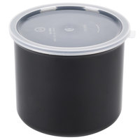 Carlisle 030403 4 Qt. Black Classic Crock with Lid