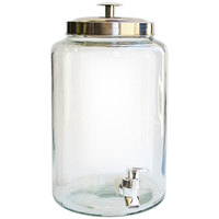 1.6 Gallon Style Setter Jacksonville Glass Beverage Dispenser