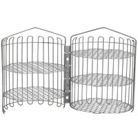 Winston Industries PS1163 12 inch x 20 inch Clamshell Basket for 6-Head Fryers