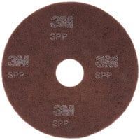 3M SPP16 Scotch-Brite™ 16 inch Surface Preparation Floor Pad - 10/Case