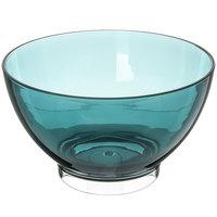 Carlisle EP1015 Epicure Cased 96 oz. Aqua Tritan Plastic Bowl - 6/Case