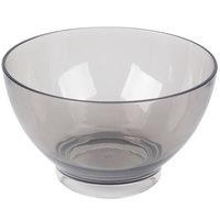 Carlisle EP1018 Epicure Cased 96 oz. Smoke Tritan Plastic Bowl - 6/Case
