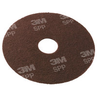 3M SPP8 Scotch-Brite™ 8 inch Surface Preparation Floor Pad - 25/Case