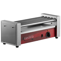 Avantco RG1812 12 Hot Dog Roller Grill with 5 Rollers - 120V, 430W