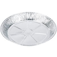 Baker's Mark 12 inch x 1 3/8 inch Extra Deep Foil Pie Pan - 20/Pack