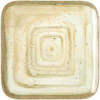 Carlisle GA5500970 Gathering 12 1/2 inch Adobe Square Melamine Plate - 6 / Case