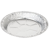 Baker's Mark 9 5/8 inch x 1 3/16 inch Deep Foil Pie Pan - 20 / Pack