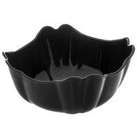 Carlisle 653103 Orchid 1.6 Qt. Black Deli Bowl - 12/Case